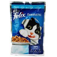 Корм для котов AGAIL треска (желе), 100гр - Felix
