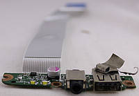 Аудио + USB плата для ноутбука HP Pavilion 15 (KPI27133)