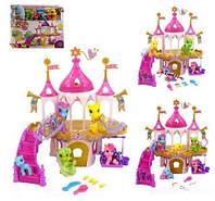 Домик Литл Пони 6628А-1-2-3-4, игровой набор, фигурки лошадок, пластик, коробка 46х36,5х10 см