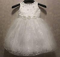 Красивое нарядное платье для девочки 3-5 лет (без шнуровки на молнии)