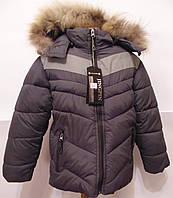 Курточка зимняя на мальчика 3 - 7 лет