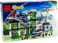 Конструктор Brick 110 Полицейский участок, 430 деталей