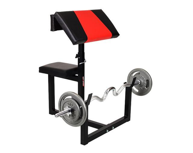 Стабильная парта для бицепсов (скамья Скотта) HS-1001-PP