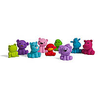Набор резиновых игрушек 9шт. Infantino для купания малыша, 0+