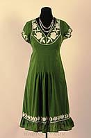 Платье , интернет магазин женской одежды,хлопок, ( ПЛ 112), костюм, по колено.