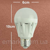 Светодиодная лампочка E27 цоколь 6W
