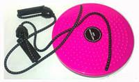 Вращающийся диск здоровья Грация металлический диск с эспандерами Waisttwisting с массажной поверхностью 540