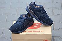 Кроссовки new balance зимние мужские 530 encap синие