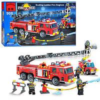 """Детский конструктор """"Пожарная тревога"""" 908  Brick, 607 дет."""