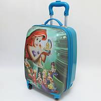 """Детский чемодан дорожный """"Josef Otten"""" Ариэль русалочка, Ariel`s на четырех колесах 520292"""