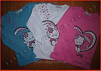 """Детская кофта - реглан для маленьких девочек """"Hello Kitty"""""""