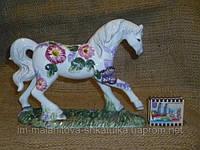 Фаянсовая статуэтка - Лошадь 16 сантиметров высота