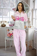 Женская плотная махровая пижама