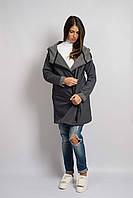 Куртка Gray с широкой горловиной