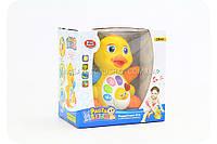 Игрушка развивающая для детей «Радостная утя» со светозвуковыми эффектами