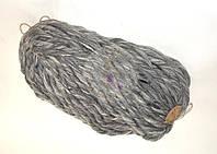 Толстая пряжа ручного прядения Антик ( Мрамор)