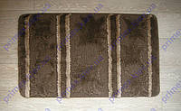 Набор ковриков для ванной комнаты коричневый. Коврик для ванной цена