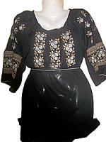 """Жіноча вишита блузка """"Тендітні троянди"""" (Женская вышитая блузка """"Хрупкие розы"""") BL-0016"""