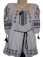 """Жіноча вишита блузка """"Казковий орнамент"""" (Женская вышитая блузка """"Сказочный орнамент"""") BL-0028"""