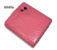 УФ лампа для ногтей 36 Вт Jiadi 818, с таймером на 120 сек (розовая)