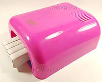 УФ лампа на 36 Вт, 230 Master Professional, модель с таймером на 120 сек (pink)