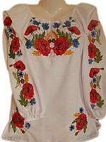 """Вишита жіноча блузка """"Казарін"""" (Вышитая женская блузка """"Казарин"""") BL-0076"""