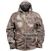Куртка Soft Shell с капюшоном A-tacs тм  CHAMELEON
