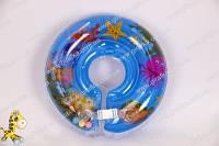Круг на шею для плавания малышей с рождения с музыкальным чипом разные цвета