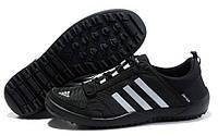 Кроссовки мужские Adidas Daroga two 11 cc black 2 Оригинал. мужские кроссовки адидас дорога