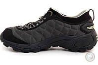 Мужские кроссовки (полуботинки) Merrell - Ice Cap Moc II Art. 61389 (чёрный \ тёмно-серый)