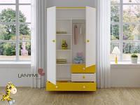 Детский шкаф-комод Vesna, Lanami разные цвета