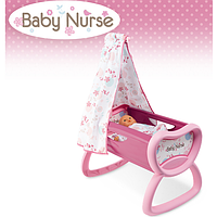 Кроватка для кукол Baby Nurse Smoby 220301