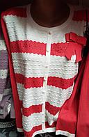 Полосатая женская кофта