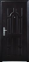 Бронированные двери металлические 86 см, левые (ТРС-17)