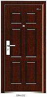 Бронированные двери металлические 86 см левые (ТРС-38)