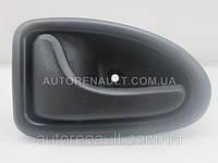 Ручка (черная) внутренняя пер. двери левая Рено Трафик II 01> POLCAR (Польша) - 8200641924