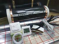 Пленочный теплый пол 6 м.кв Hi-Heat (Ю.Корея) комплект (терморегулятор на выбор по спец.цене)