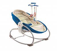 Кресло - кроватка - качалка 3 в 1 «Мамина любовь» (синее) для детей с рождения ТМ Tiny Love 1801206830