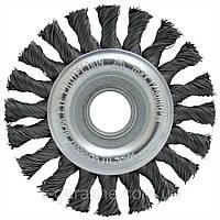 Щетка дисковая LESSMANN 125х6х22,2 мм