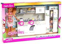 """Набор Defa 6085 """"Современная кухня"""" в комплекте с куклой"""