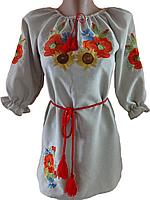 """Жіноча вишита блузка """"Український букет"""" (Женская вышитая блузка """"Украинский букет"""") BN-0002"""