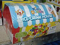 Тесто для лепки. Набор для детского творчества 'Мороженое' в домике