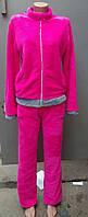 Женская махровый  пижама