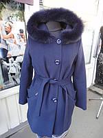 "Пальто зимнее ""Almatti"" модель З-218-13 с мехом"