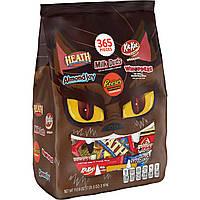 Hershey's Американские шоколадки 3190 грамм, 365 шоколадных конфет
