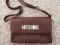 Женская сумка-клатч Moschino. Качественная сумочка. Стильный дизайн. Интернет магазин. Новая. Код: КДН1037