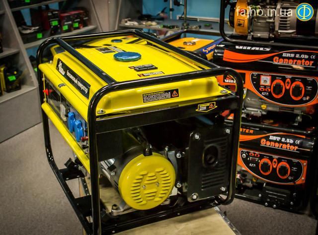 Бензиновый генератор Кентавр ЛБГ 505  фото 9