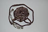 Женский ремень роза