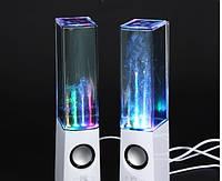 Портативные колонки фонтан «Water Dancing Speakers»