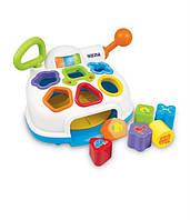 Кассовый аппарат музыкальная игрушка-сортер Weina